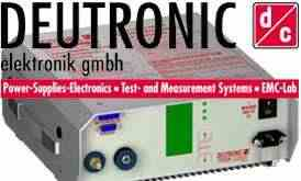 Deutronic Battery Charging Systems